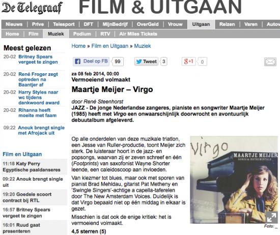 Telegraaf 08-02-14