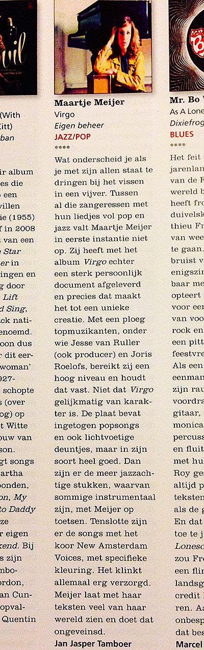 Recensie-Jazzism-Virgo-januari-2014