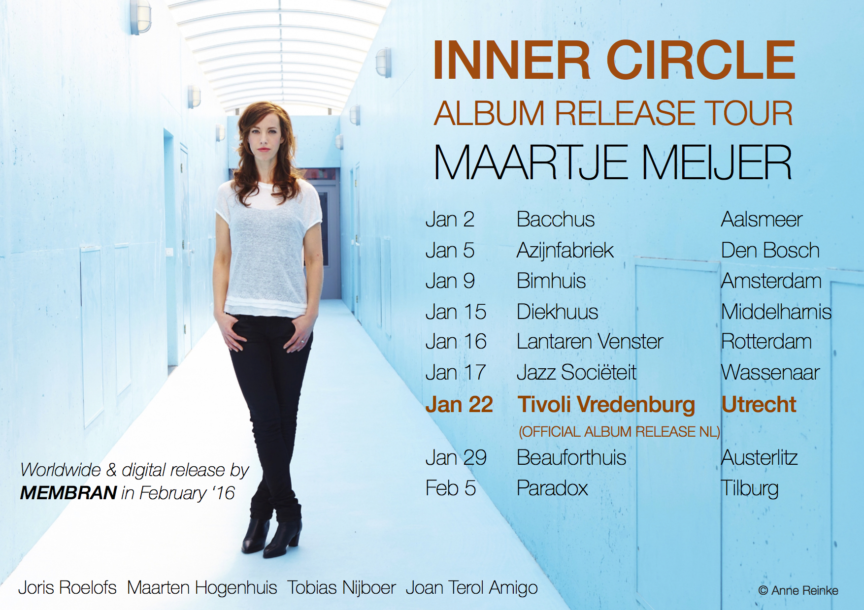 Flyer Inner Circle Tour