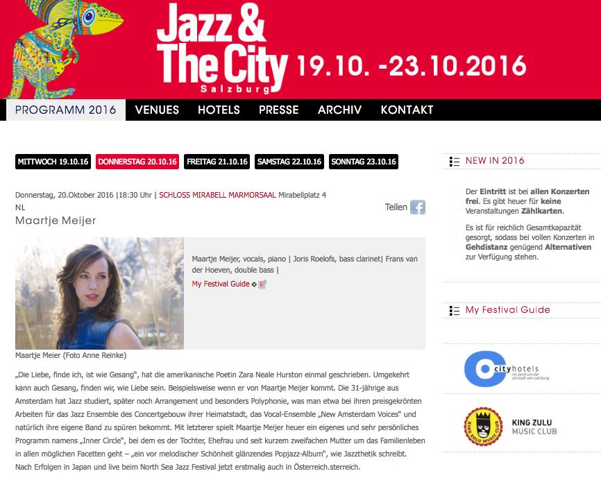 Jazz&TheCity